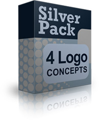 silver logo pack